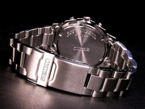 セイコー SEIKO クロノグラフ 腕時計 SND193-3