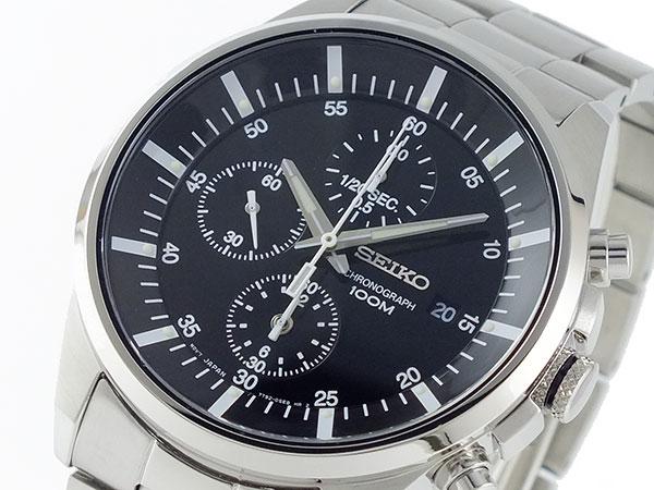 セイコー SEIKO 1/20秒 クロノグラフ 腕時計 SNDC81P1-1