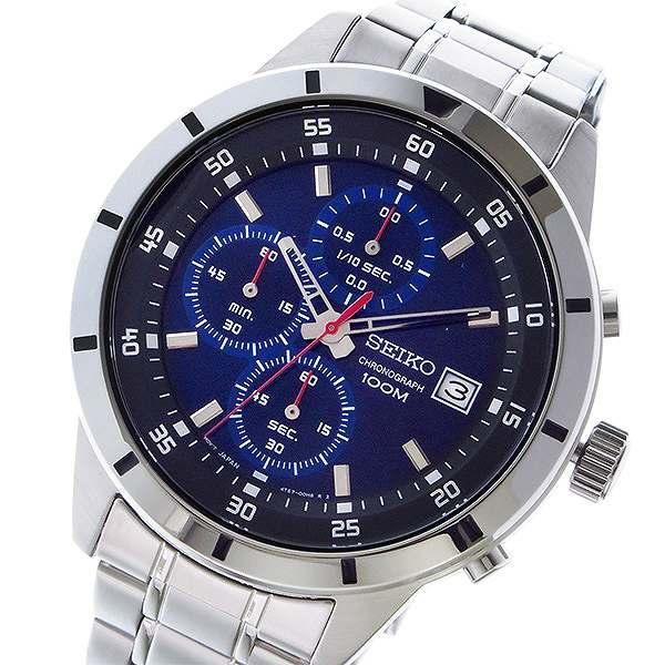 セイコー SEIKO 逆輸入 クロノグラフ メンズ 腕時計 SKS559P1 メタルベルト-1