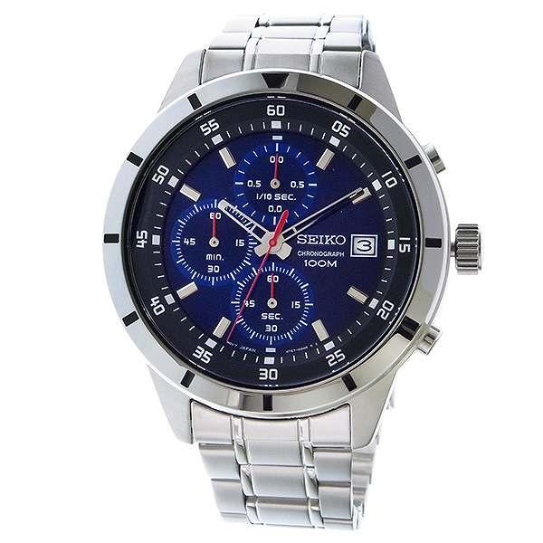 セイコー SEIKO 逆輸入 クロノグラフ メンズ 腕時計 SKS559P1 メタルベルト-2