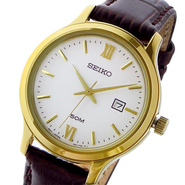 セイコー SEIKO クラシック クオーツ レディース 腕時計 SUR702P1 ホワイト-1