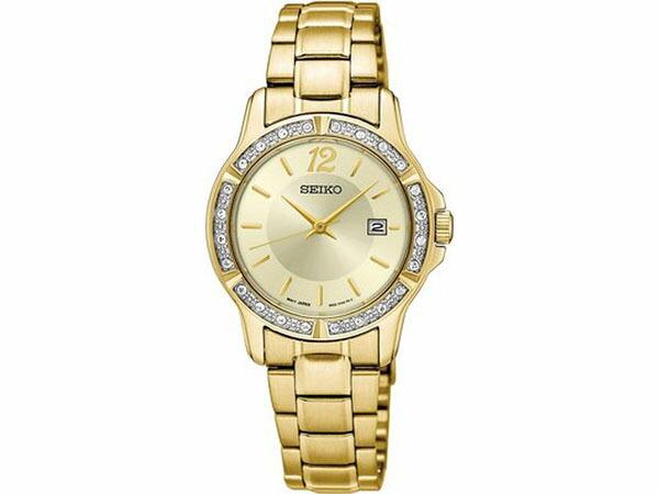 セイコー SEIKO クオーツ レディース 腕時計 SUR714P1 ゴールド-1