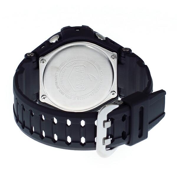 カシオ Gショック スカイコックピット クオーツ メンズ 腕時計 GA-1100GB-1A ブラック-3