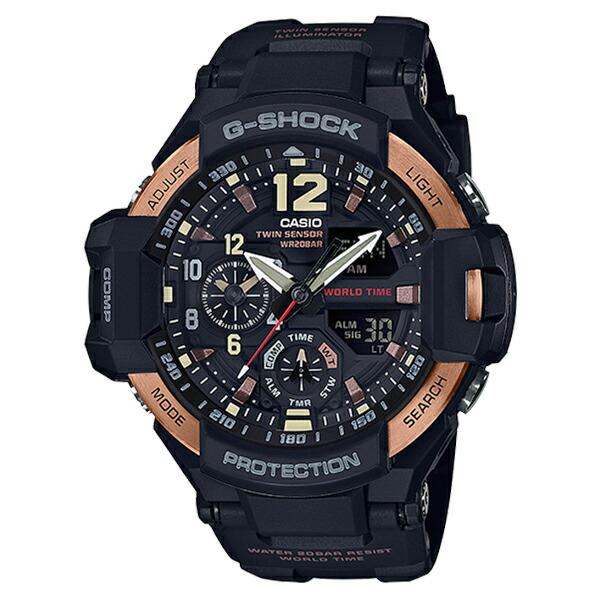 カシオ Gショック スカイコックピット クオーツ メンズ 腕時計 GA-1100RG-1A-1