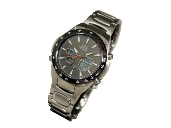 エルジン ELGIN 腕時計 ワールドタイム 電波 ソーラー メンズ FK1416B-BP-2