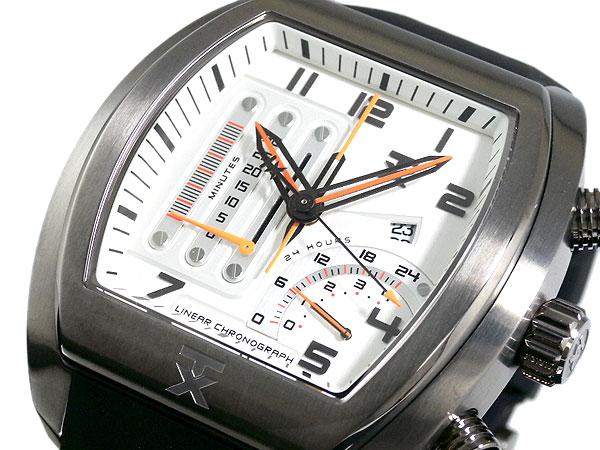 TX ティーエックス 変則クロノグラフ 腕時計 T3C487-1