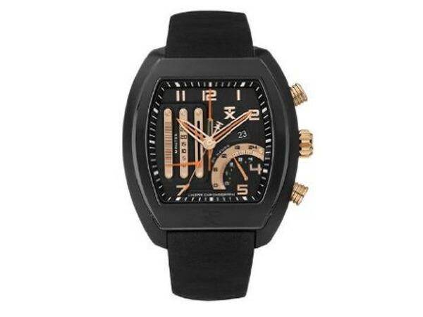 TX ティーエックス 変則クロノグラフ 腕時計 T3C492-1