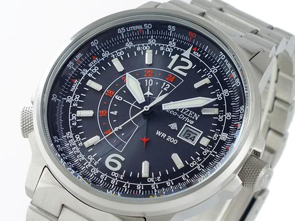 シチズン CITIZEN 逆輸入 プロマスター ナイトホーク エコドライブ メンズ 腕時計 BJ7010-59E メタルベルト-1