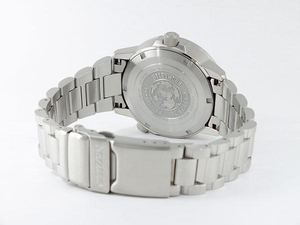 シチズン CITIZEN 逆輸入 プロマスター ナイトホーク エコドライブ メンズ 腕時計 BJ7010-59E メタルベルト-3