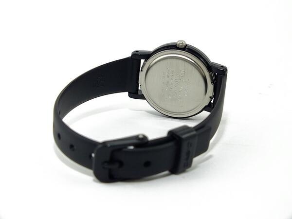カシオ CASIO ベーシック 海外モデル レディース 腕時計 LQ-139BMV-1BL ホワイト×ブラック ラバーベルト-3