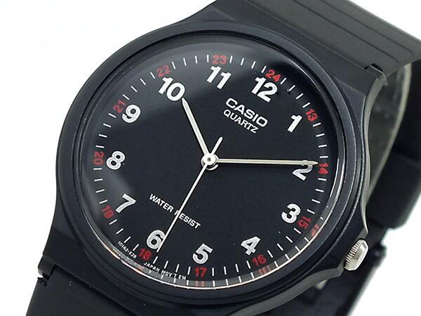 カシオ CASIO クオーツ 腕時計 MQ24-1BL ブラック-1