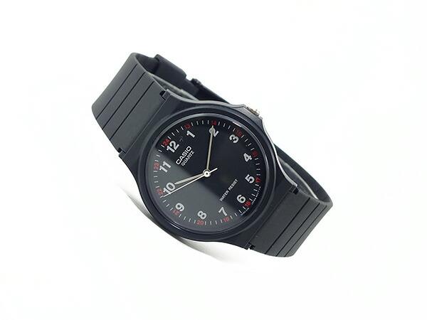 カシオ CASIO クオーツ 腕時計 MQ24-1BL ブラック-2
