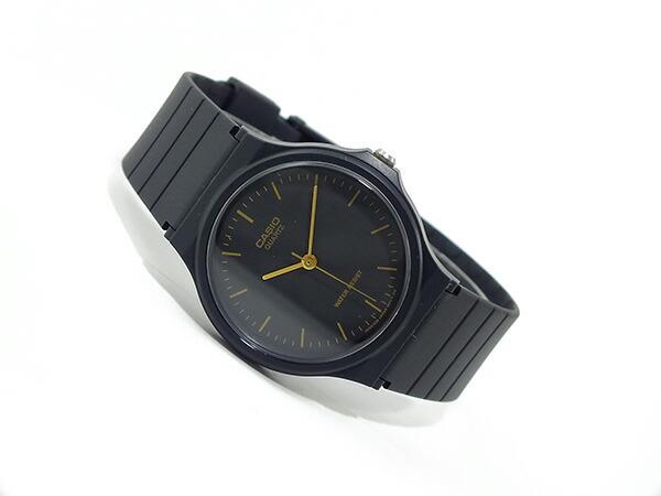 カシオ CASIO ベーシック 逆輸入 クオーツ メンズ 腕時計 MQ-24-1EL ブラック ラバーベルト-2