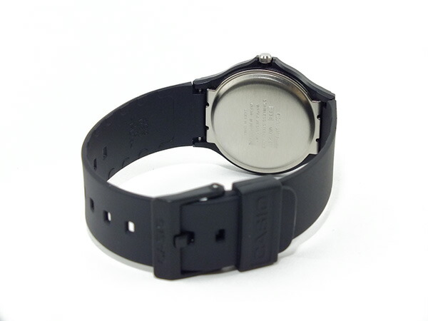 カシオ CASIO ベーシック 逆輸入 クオーツ メンズ 腕時計 MQ-24-1EL ブラック ラバーベルト-3
