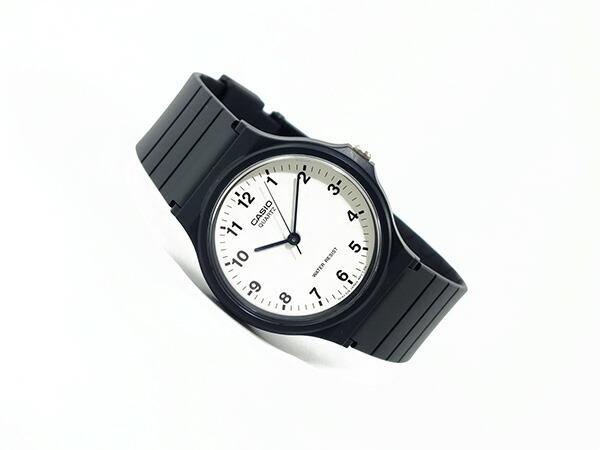 カシオ CASIO ベーシック 逆輸入 クオーツ メンズ 腕時計 MQ-24-7B2L ホワイト×ブラック メンズ-2