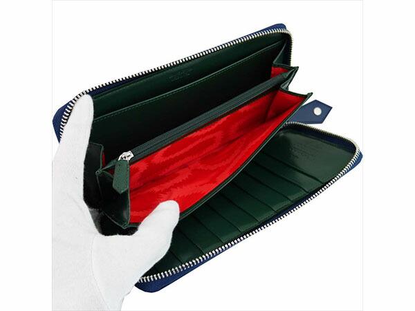ヴィヴィアン ウエストウッド Vivienne Westwood 長財布 メンズ 33.350 ブルー/グリーン-3