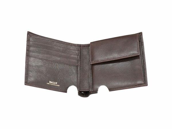 BALLY バリー TYE 271/CHOCOLATE 二つ折り 短財布 メンズ 6166595-2
