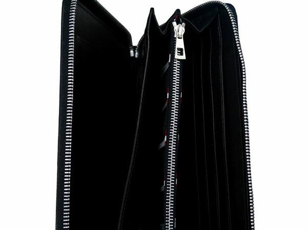 2122c0e19051 BALLY バリー バッグ 6167360 長財布 TEVIN 290 モンクレール/BLACK ...