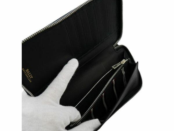 BALLY バリー 6179155 長財布 TASYO 290/BLACK ブラック-3