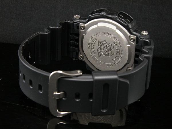 カシオ CASIO Gショック G-SHOCK 逆輸入 ガルフマン 腕時計 G-9100-1 メンズ ブラック ラバーベルト-3