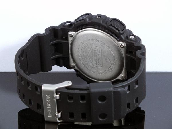 カシオ CASIO Gショック G-SHOCK アナデジ メンズ 腕時計 GA-100-1A1 ブラック ラバーベルト-3