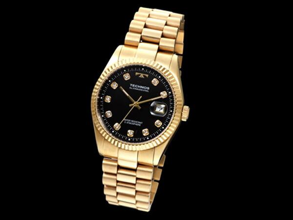 テクノス TECHNOS 腕時計 メンズ T9604GB クオーツ-1