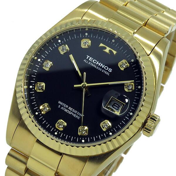 テクノス TECHNOS 腕時計 メンズ T9604GB クオーツ-2