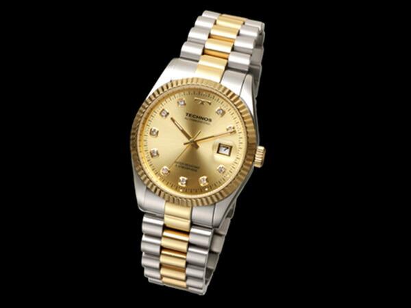 テクノス TECHNOS 腕時計 メンズ T9604TC クオーツ-1