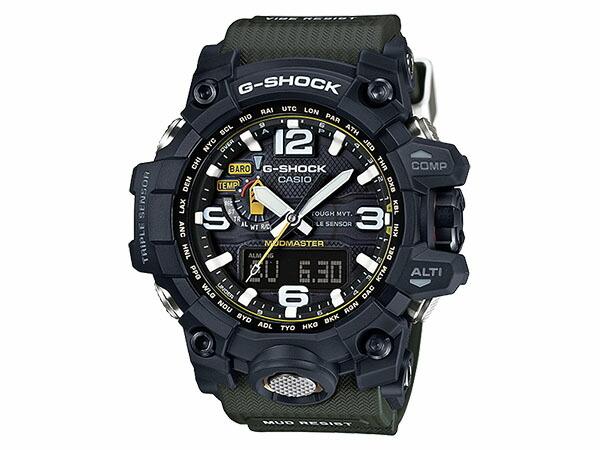 カシオ CASIO Gショック G-SHOCK 逆輸入 マッドマスター 電波 ソーラーメンズ 腕時計 GWG-1000-1A3-1