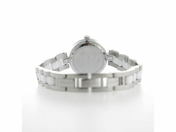 サルバトーレマーラ SALVATORE MARRA クオーツ レディース 腕時計 SM17153-SSWHR ホワイトシェル-3