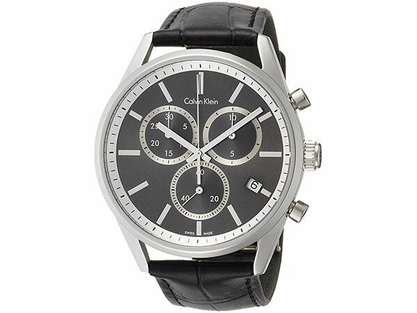 bc5f438a51 カルバンクライン CALVIN KLEIN クオーツ クロノグラフ メンズ 腕時計 K4M271C3