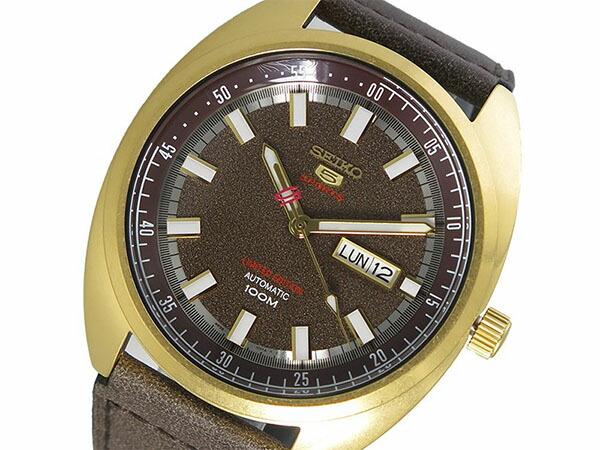 セイコー SEIKO SEIKO 5 SPORTS 自動巻き メンズ 腕時計 SRPB74K1 ブラウン-1
