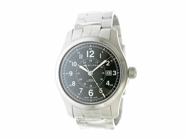 ハミルトン HAMILTON カーキ フィールド 自動巻き メンズ 腕時計 H70605163 カーキ-2