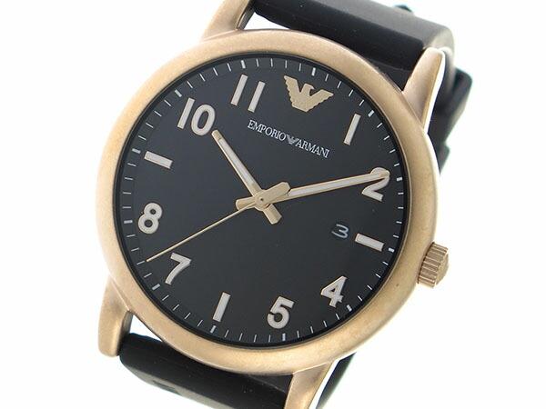 エンポリオアルマーニ EMPORIO ARMAN クオーツ メンズ 腕時計 AR11097 ブラック-1