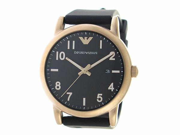 エンポリオアルマーニ EMPORIO ARMAN クオーツ メンズ 腕時計 AR11097 ブラック-2