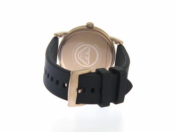 エンポリオアルマーニ EMPORIO ARMAN クオーツ メンズ 腕時計 AR11097 ブラック-3