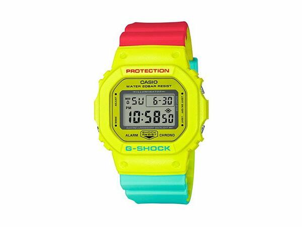 カシオ CASIO G-SHOCK 腕時計 DW-5600CMA-9 ブリージー ラスタカラー-1