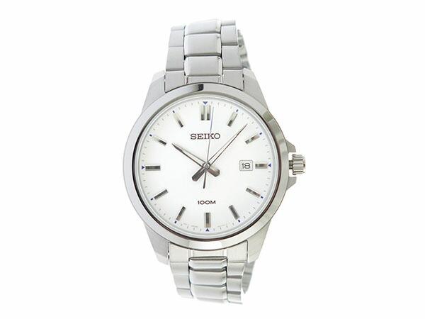 セイコー SEIKO クオーツ メンズ 腕時計 SUR241P1 ホワイト-2