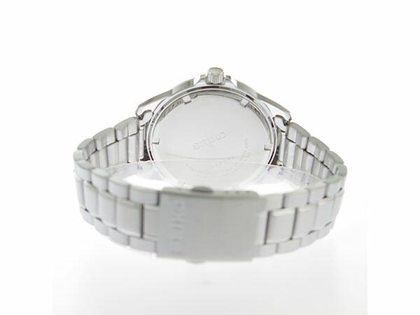 セイコー SEIKO クオーツ メンズ 腕時計 SUR241P1 ホワイト-3