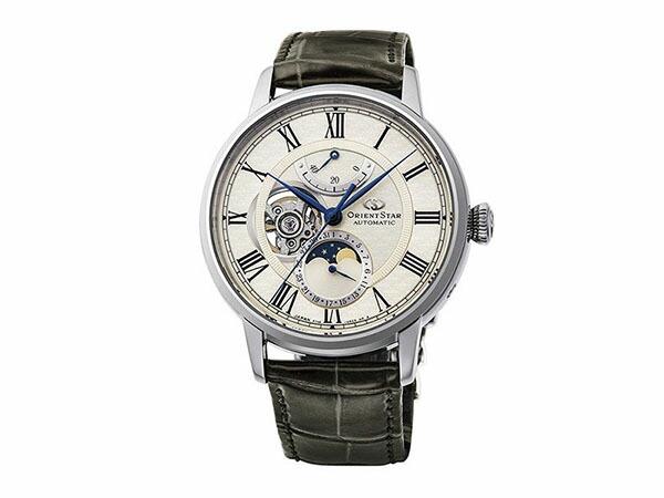 オリエントスター Orient Star  メカニカル ムーンフェイズ 自動巻き メンズ 腕時計 RK-AM0007S-1