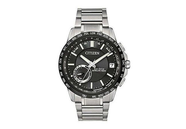 シチズン エコドライブ サテライト ウェーブ 電波 ソーラー メンズ 腕時計 CC3005-85E-1