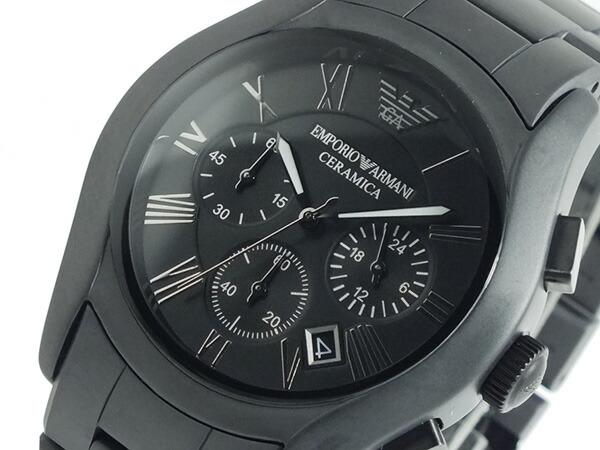 エンポリオ アルマーニ EMPORIO ARMANI クロノグラフ 腕時計 AR1457-1