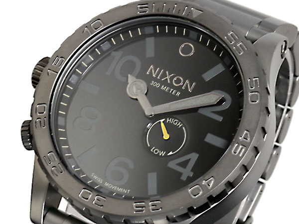 ニクソン NIXON 51-30 腕時計 A057-680 ALL GUNMETAL BLACK-1