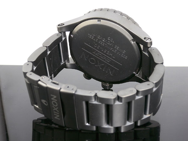 ニクソン NIXON 51-30 腕時計 A057-680 ALL GUNMETAL BLACK-3
