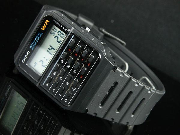 カシオ CASIO カリキュレーター 腕時計 CA53W-1-2