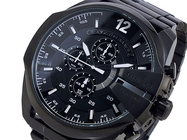 ディーゼル DIESEL クロノグラフ メタルベルト 腕時計 メンズ DZ4283 ブラック-1