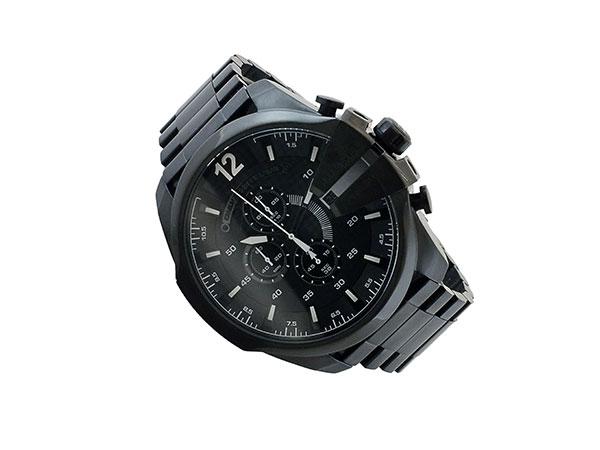 ディーゼル DIESEL クロノグラフ メタルベルト 腕時計 メンズ DZ4283 ブラック-2