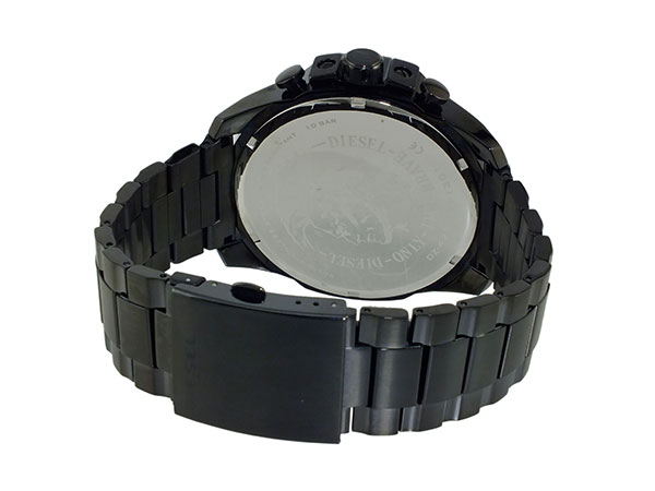 ディーゼル DIESEL クロノグラフ メタルベルト 腕時計 メンズ DZ4283 ブラック-3