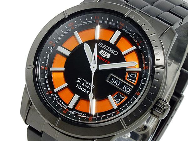 セイコー ファイブ SEIKO 5 スポーツ 自動巻き 腕時計 SRP345J1 メンズ-1