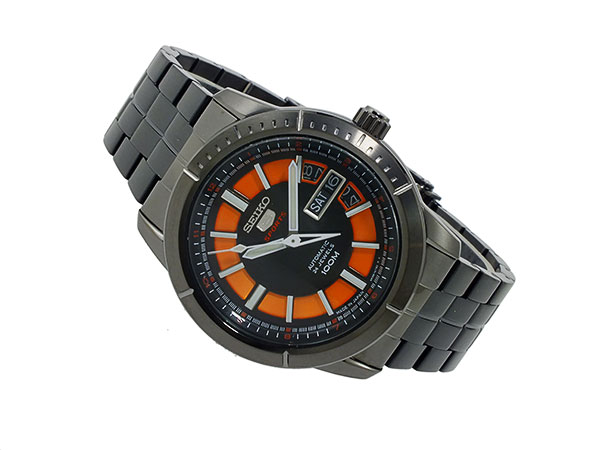 セイコー ファイブ SEIKO 5 スポーツ 自動巻き 腕時計 SRP345J1 メンズ-2